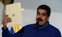 Venezuelan President registers his candidacy for April elections