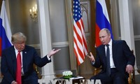 Trump talks about summit with Russia