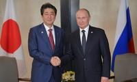 Russia, Japan seek peace treaty