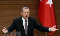Recep Tayyip Erdogan merebut kemenangan dalam pilpres di Turki