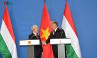 """Meningkatkan kerangka hubungan Vietnam-Hungaria ke """"Kemitraan Komprehensif"""""""