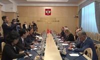 Memperkokoh dan memperkuat hubungan Kemitraan Strategis dan Komprehensif antara Vietnam dan Federasi Rusia