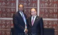 PM Nguyen Xuan Phuc bertemu dengan PM Vanuatu