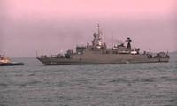 Kapal Angkatan Laut Thailand mengunjungi Pulau Phu Quoc (Vietnam Selatan)