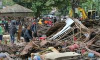 Indonesia dengan giat mengatasi akibat tsunami