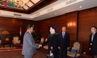 Ketua MN Vietnam, Nguyen Thi Kim Ngan melakukan pertemuan dengan Ketua Parlemen Kerajaan Kamboja dan Ketua Majelis Tinggi Kamboja
