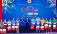 """Ketua MN Vietnam, Nguyen Thi Kim Ngan menghadiri """"Hari Raya Tet Berkumpul"""" di Provinsi Binh Duong"""