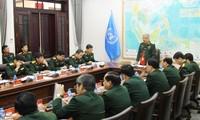 Vietnam dengan aktif mempersiapkan Regu Pasukan Zeni ikut serta pada tindakan penjagaan perdamaian PBB