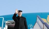 Koran Thailand memuat berita tentang kunjungan Sekjen, Presiden Nguyen Phu Trong di Laos dan Kamboja
