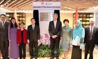 Pembukaan Pusat Kerjasama Vietnam-Singapura di Kota Hanoi