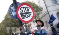Pawai memprotes Brexit yang paling besar selama banyak dekade di London