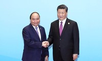 "PM Vietnam, Nguyen Xuan Phuc mengakhiri dengan baik kehadiran-nya di Forum Tingkat Tinggi ke-2 Kerjasama Internasional:  ""Sabuk dan Jalan""."