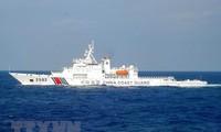 Kapal penjaga pantai Tiongkok menuju ke kawasan laut yang dipersengketakan dengan Jepang