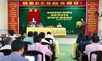 Ketua MN Vietnam, Nguyen Thi Kim Ngan melakukan kontak dengan para pemilih di Kabupaten Phong Dien, Kota Can Tho