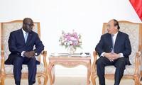 PM Nguyen Xuan Phuc menerima Menlu Pantai Gading, Marcel Amon Tanoh