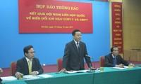 Vietnam gab Pressekonferenz über den Weltklimagipfel