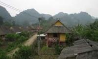 Die Speisekarte der schwarzen Thai in Dien Bien
