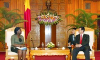 Premierminister Dung trifft die Nationaldirektorin der Weltbank in Vietnam