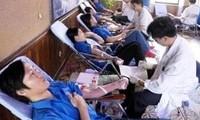 Veranstaltung zum Welttag der Blutspende