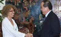 Vize-Premierminister Nguyen Thien Nhan empfängt Vertreter von APHA