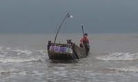Die Seefahrt der Fischer in Tra Co