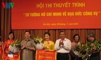 """Wettbewerb """"Ho Chi Minhs Ideologie der Arbeitsmoral"""""""