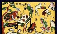 Folkloristische Bilder Dong Ho: ein Beruf und ein Nationalerbe