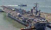 """Nordkorea kritisiert Präsenz des amerikanischen Flugzeugträgers """"Nimitz"""" beim Manöver mit Südkorea"""