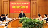 Staatspräsident tagt mit dem Ministerium für öffentliche Sicherheit über Justizreform