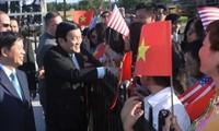 Beziehungen zwischen Vietnam und USA zukunftsweisend