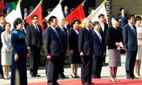 Tätigkeiten des Staatspräsidenten Truong Tan Sang in Japan