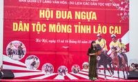 Festival des Pferdrennens der Mong