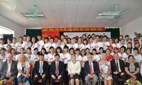 2. Ausbildungsjahrgang vietnamesischer Arbeitskräfte zu Altenpfleger in Deutschland beginnt