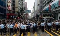Sicherheitsbehörden in Hongkong nehmen 19 Demonstranten fest