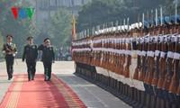 Verstärkte Zusammenarbeit zwischen Armeen Vietnams und Chinas