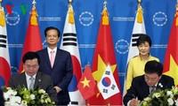 Vietnam und Südkorea beenden Verhandlungen über Freihandelsabkommen