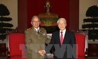 Vietnam und Kuba verstärken Zusammenarbeit im Verteidigungsbereich