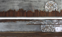 """Ausstellung """"Erntemond"""" – die einzigartige Lackmalerei auf Metall"""