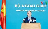 Vietnam bekräftigt erneut seine Souveränität auf die beiden Inselgruppen Truong Sa und Hoang Sa