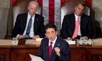 Japans Premierminister hält historische Rede vor US-Kongress