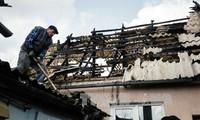 Konfliktparteien einigen sich auf eine Waffenpause in der Umgebung von Donezk