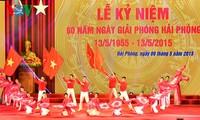 Feier zum 60. Befreiungstag der Hafenstadt Hai Phong