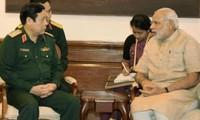 Die strategische Partnerschaft zwischen Indien und Vietnam entwickelt sich stark