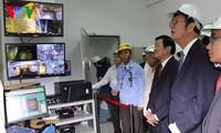 Staatspräsident nimmt an Einweihung eines Projektes zur Produktionserweiterung von Vina Kyoei teil