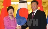Spitzenpolitiker Chinas und Südkoreas führen Gespräch in Peking