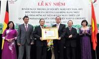 Feier zum 30. Gründungstag der Vietnamesisch-Deutschen Freundschaftsgesellschaft