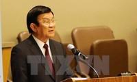 Staatspräsident Truong Tan Sang nimmt an der Konferenz über Geschlechtergleichheit teil