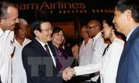 Staatspräsident Truong Tan Sang beginnt offiziellen Besuch in Kuba