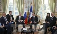 """""""Normandie-Quartett"""" ruft die Umsetzung der Minsker-Vereinbarung über Ukraine auf"""