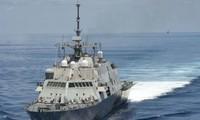 Die USA kündigen die Entsendung von Marineschiffen ins Ostmeer an